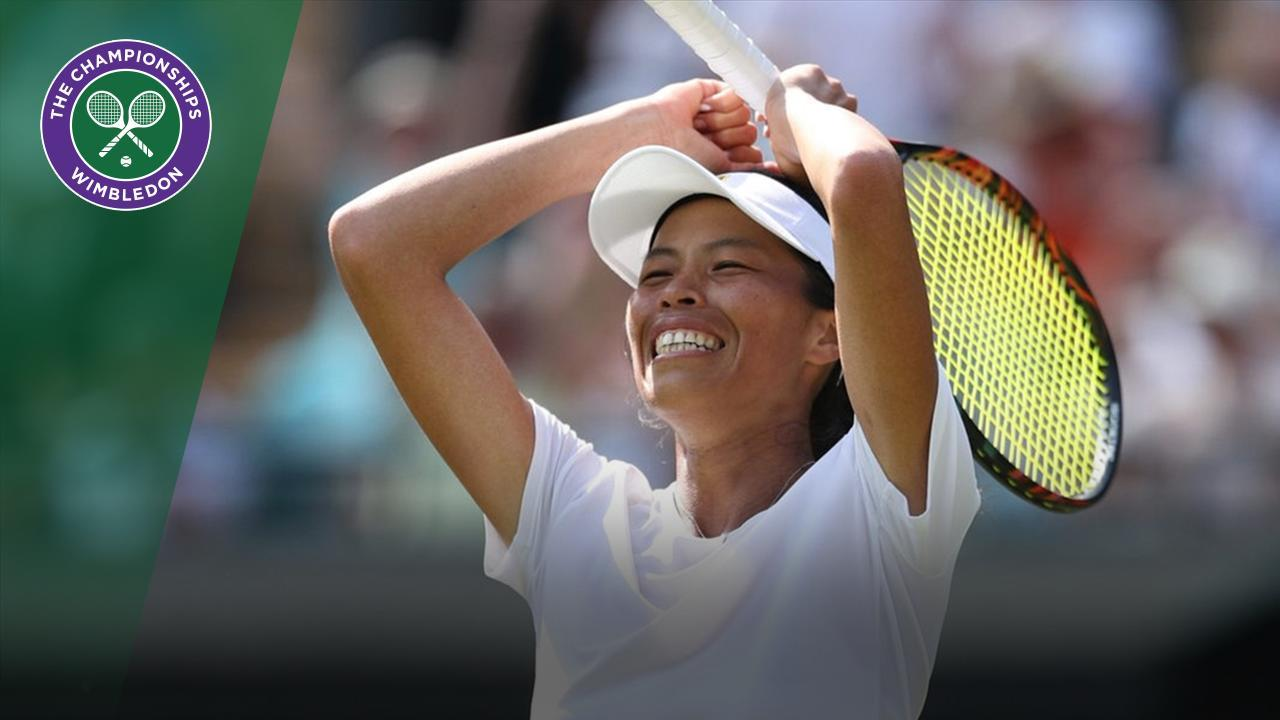 Archive  Hsieh s special shotmaking stuns Halep 30e0b52e03a03